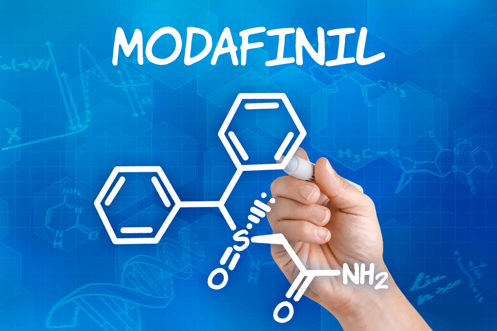 Modafinil chemische formule